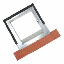 Verstelbare zinken slab voor schoorsteenblokken van 30 tot 60 cm, lood naturel
