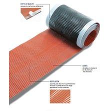 Soepele ondervorst ZEF verlucht aluminium 300 - 5 lm rood